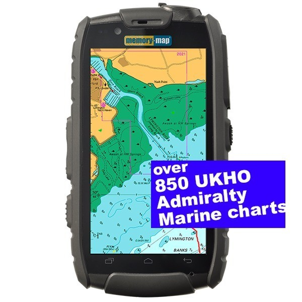 Memory Map Android GPS TX4 GPS / 3G Smartphone - Marine Edition